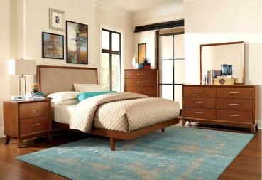 Beautiful Vintage Mid Century Bedroom Designs19