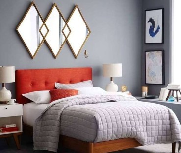 Beautiful Vintage Mid Century Bedroom Designs20