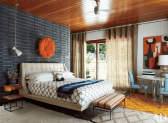 Beautiful Vintage Mid Century Bedroom Designs21