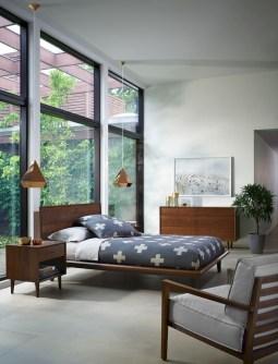 Beautiful Vintage Mid Century Bedroom Designs33