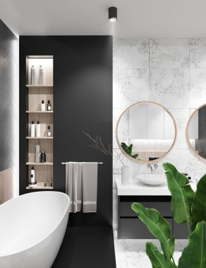 Lovely Contemporary Bathroom Designs34