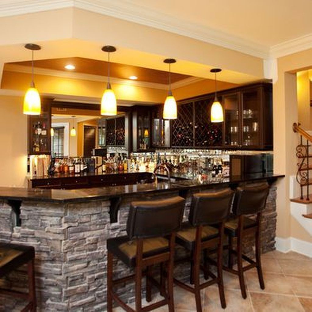 Bar Top Design Ideas: 49 Modern Home Bar Designs
