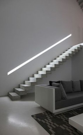 Modern Staircase Designs For Your New Home26
