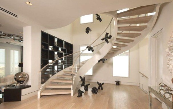 Modern Staircase Designs For Your New Home28