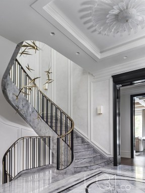 Modern Staircase Designs For Your New Home35