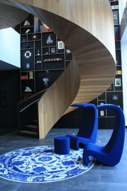 Modern Staircase Designs For Your New Home37