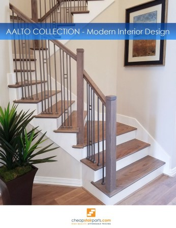 Modern Staircase Designs For Your New Home49