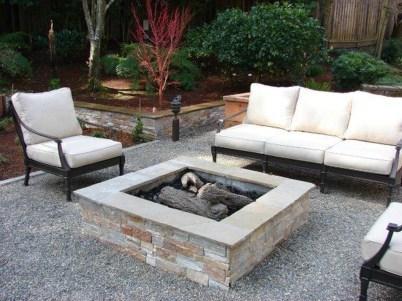 Simple Backyard Step Lights Fire Pits02