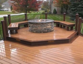 Simple Backyard Step Lights Fire Pits13