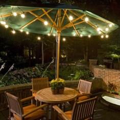 Simple Backyard Step Lights Fire Pits24