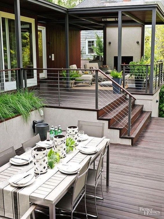 Welcoming Contemporary Porch Designs26