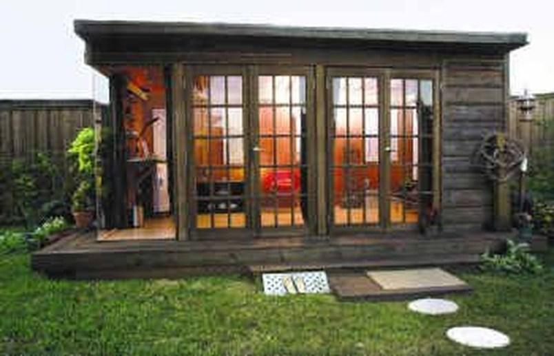 Amazing Backyard Studio Shed Design06