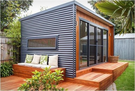 Amazing Backyard Studio Shed Design09