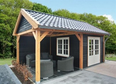 Amazing Backyard Studio Shed Design11