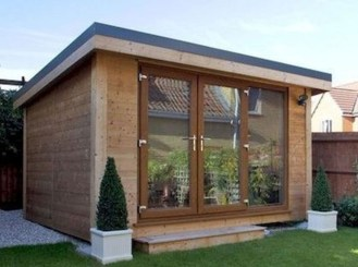 Amazing Backyard Studio Shed Design25