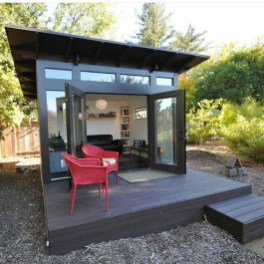 Amazing Backyard Studio Shed Design27