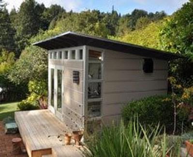 Amazing Backyard Studio Shed Design41