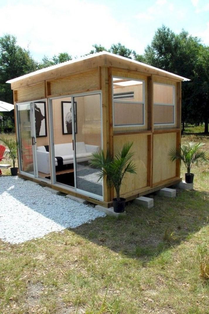 Amazing Backyard Studio Shed Design43