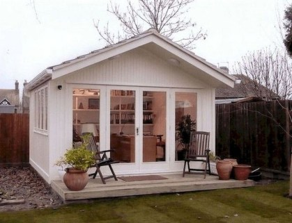 Amazing Backyard Studio Shed Design45