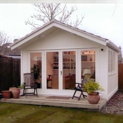 Amazing Backyard Studio Shed Design46