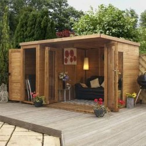 Amazing Backyard Studio Shed Design48