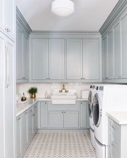 Amazing Laundry Room Tile Design14
