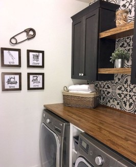 Amazing Laundry Room Tile Design15