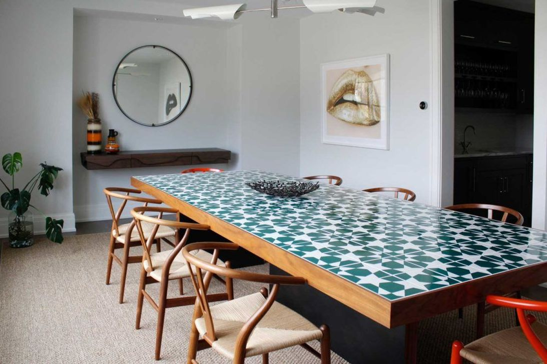 30 Best Dining Room Tiles Ideas - HOMISHOME