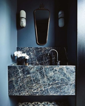 Elegant Stone Bathroom Design31