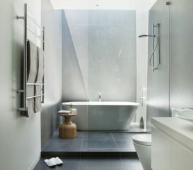 Elegant Stone Bathroom Design35