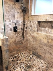 Elegant Stone Bathroom Design36
