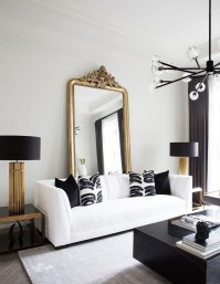 Lovely Black And White Living Room Ideas28