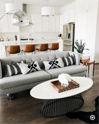 Lovely Black And White Living Room Ideas29