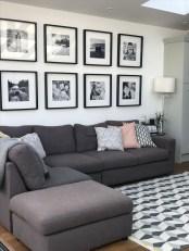 Lovely Black And White Living Room Ideas41