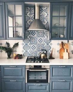 Lovely Blue Kitchen Ideas02