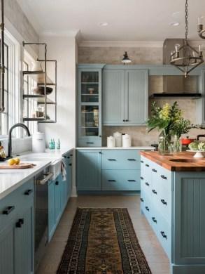 Lovely Blue Kitchen Ideas19