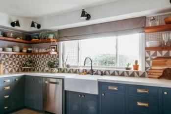 Lovely Blue Kitchen Ideas32