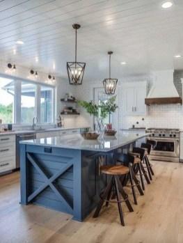 Lovely Blue Kitchen Ideas38
