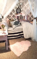 Lovely Girly Bedroom Design05