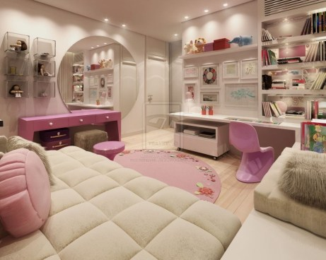 Lovely Girly Bedroom Design20