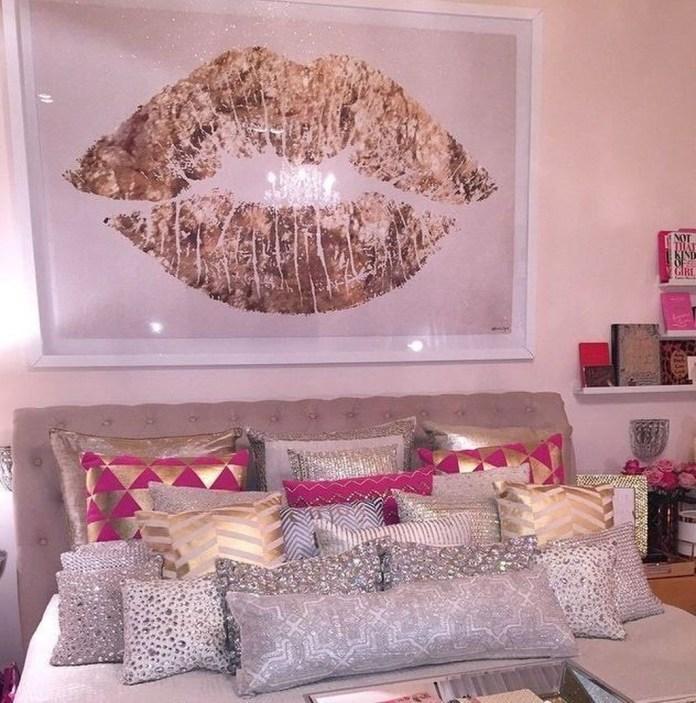 Lovely Girly Bedroom Design28