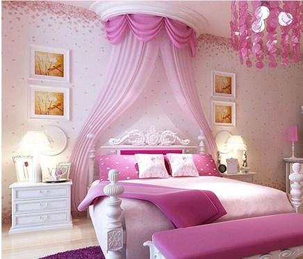 Lovely Girly Bedroom Design30
