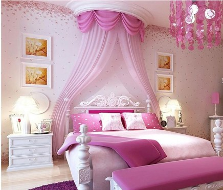 Lovely Girly Bedroom Design30