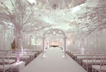 Lovely Winter Wedding Decoration14