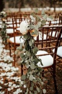 Lovely Winter Wedding Decoration35