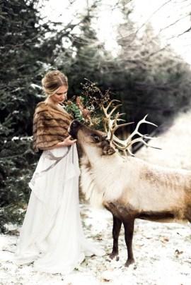 Lovely Winter Wedding Decoration38