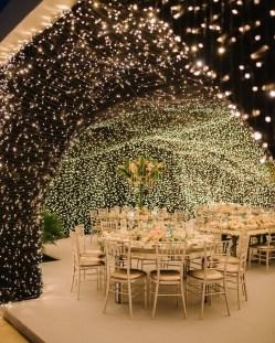 Lovely Winter Wedding Decoration40
