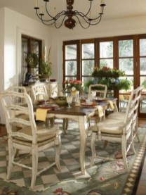 Marvelous French Country Dinning Room Table Design03