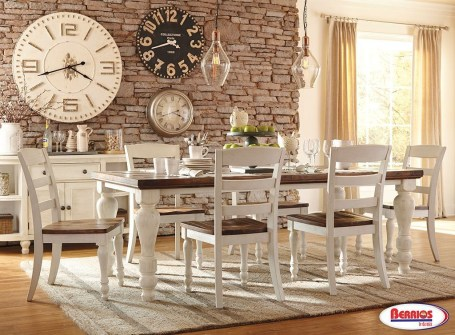 Marvelous French Country Dinning Room Table Design16