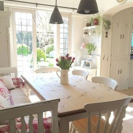 Marvelous French Country Dinning Room Table Design25